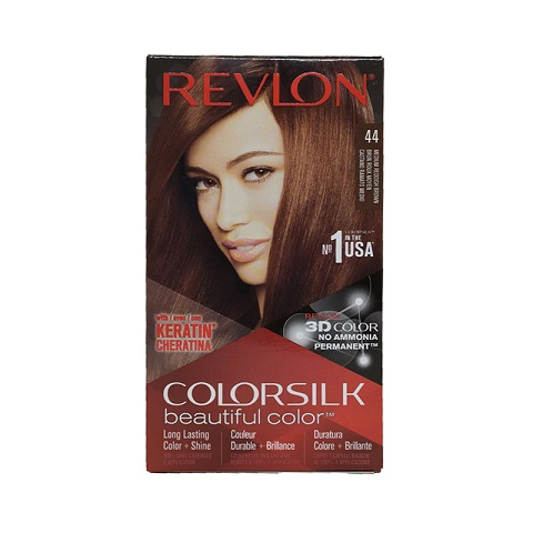 Revlon Colorsilk Beautiful 3D Hair Color - 44 Medium Reddish Brown