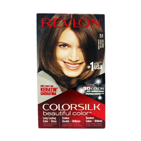 Revlon ColorSilk Beautiful 3D Hair Color - 51 Light Brown