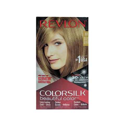 Revlon ColorSilk Beautiful 3D Hair Color - 61 Dark Blonde