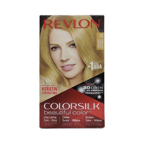 Revlon ColorSilk Beautiful 3D Hair Color - 74 Medium Blonde