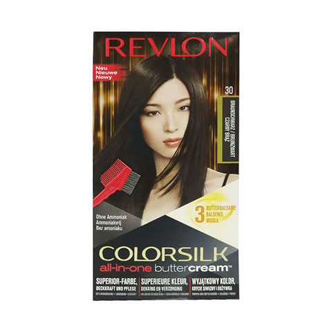 Revlon ColorSilk Buttercream Hair Color - 30 Brown Black