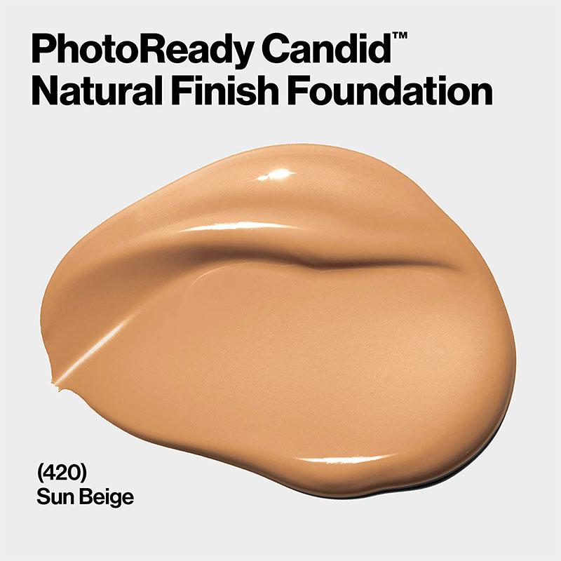 Revlon PhotoReady Candid Natural Finish Anti-Pollution Foundation - 420 Sun Beige