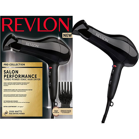 Revlon Pro Collection Salon Performance Turbo Ionic Hair Dryer (2211)