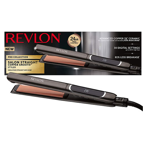 Revlon Pro Collection Salon Straight Copper Extra Long Hair Straightener
