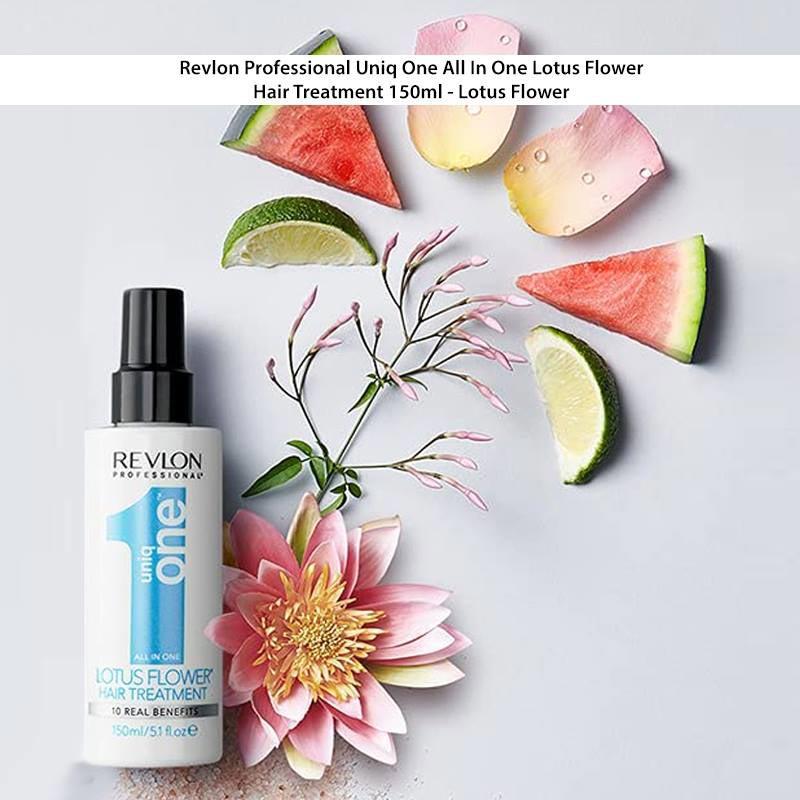 Revlon Professional Uniq One All In One Lotus Flower Hair Treatment 150ml - Lotus Flower