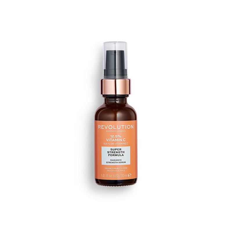 Revolution Skincare 12.5% Vitamin C Radiance Strength Serum 30ml