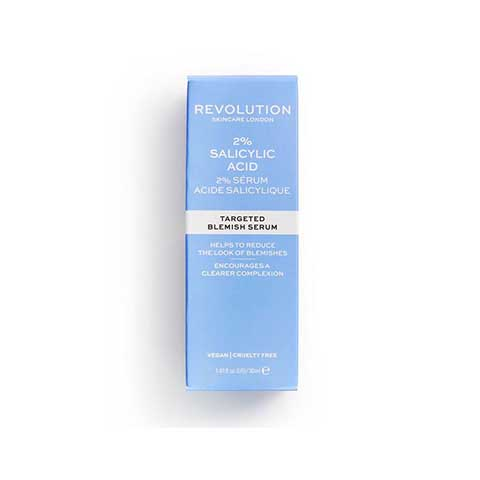 Revolution Skincare 2% Salicylic Acid Targeted Blemish Serum 30ml