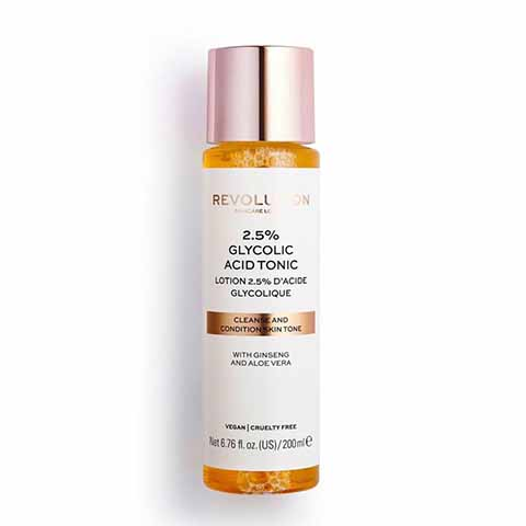 Revolution Skincare 2.5% Glycolic Acid Tonic 200ml