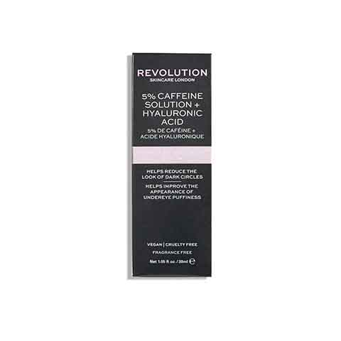 Revolution Skincare 5% Caffeine + Hyaluronic Acid Targeted Under Eye Serum 30ml