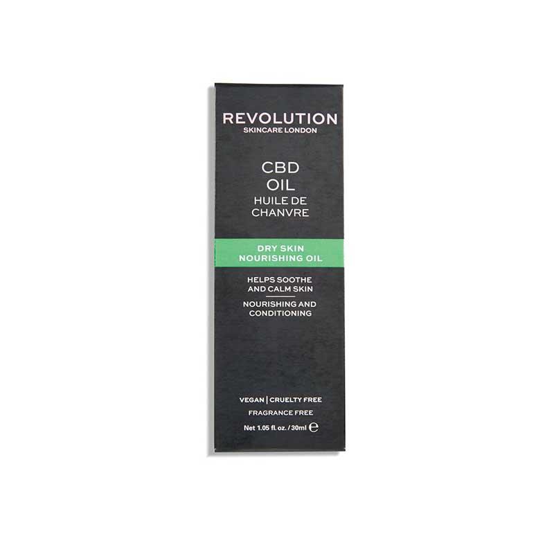 Revolution Skincare Dry Skin Nourishing CBD Oil 30ml