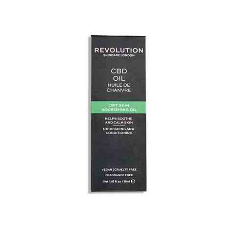 Revolution Skincare Dry Skin Nourishing CBD Oil 30ml