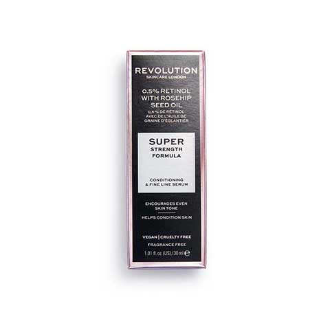 Revolution Skincare Extra 0.5% Retinol with Rosehip Seed Oil Super Strength Formula Serum 30ml