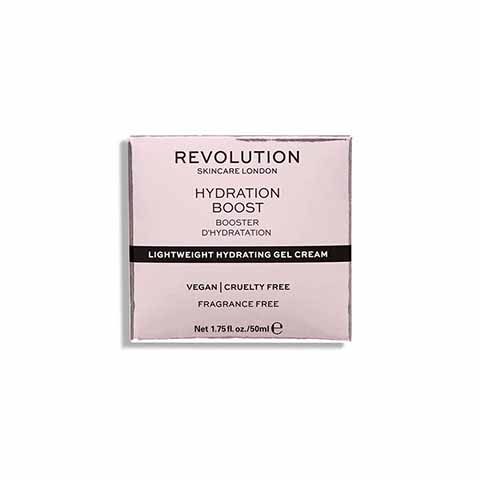 Revolution Skincare Lightweight Hydrating Gel Cream 50ml - Hydration Boost