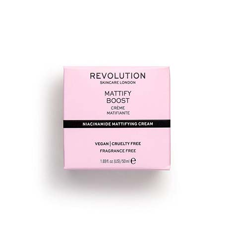 Revolution Skincare Niacinamide Mattifying Cream 50ml - Mattify Boost