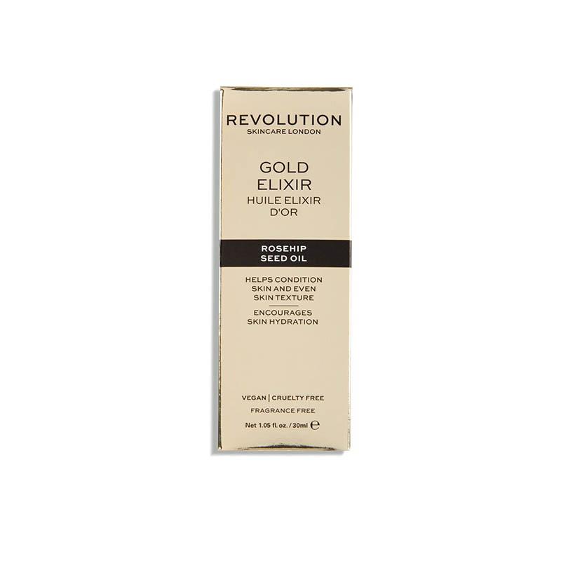 Revolution Skincare Rosehip Seed Oil 30ml - Gold Elixir