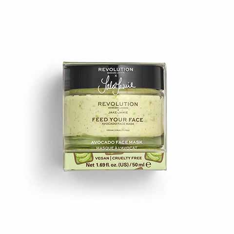 Revolution Skincare X Jake Jamie Feed Your Face Avocado Face Mask 50ml