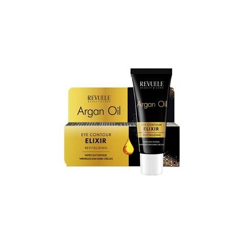 Revuele Beauty & Care Argan Oil Eye Contour Elixir Revitalising 25ml