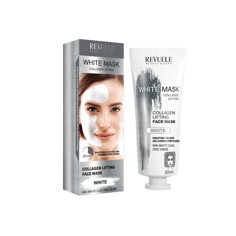 Revuele Beauty & Care Collagen Express White Face Mask 80ml