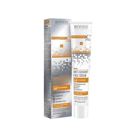 Revuele Beauty & Care Vitanorm C+ Energy Night Anti Oxidant Face Cream 50ml