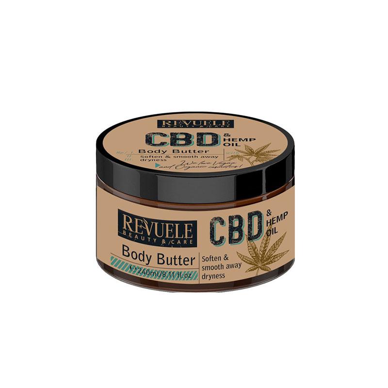 Revuele CBD & Hemp Seed Oil Body Butter 240ml