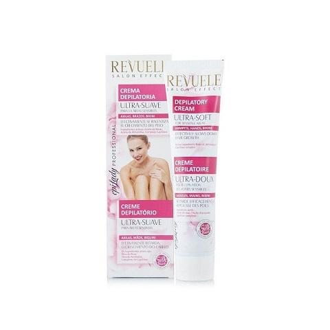 Revuele Salon Effect Ultra Soft Depilatory Hair Removal Cream For Sensitive Areas 125ml