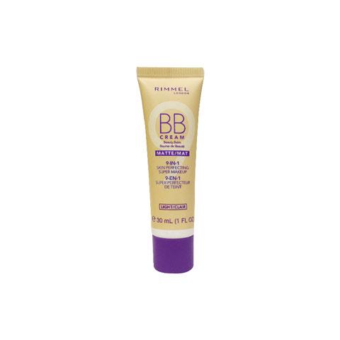 Rimmel Matte BB Cream 9 in 1 Skin Perfecting 30ml - Light