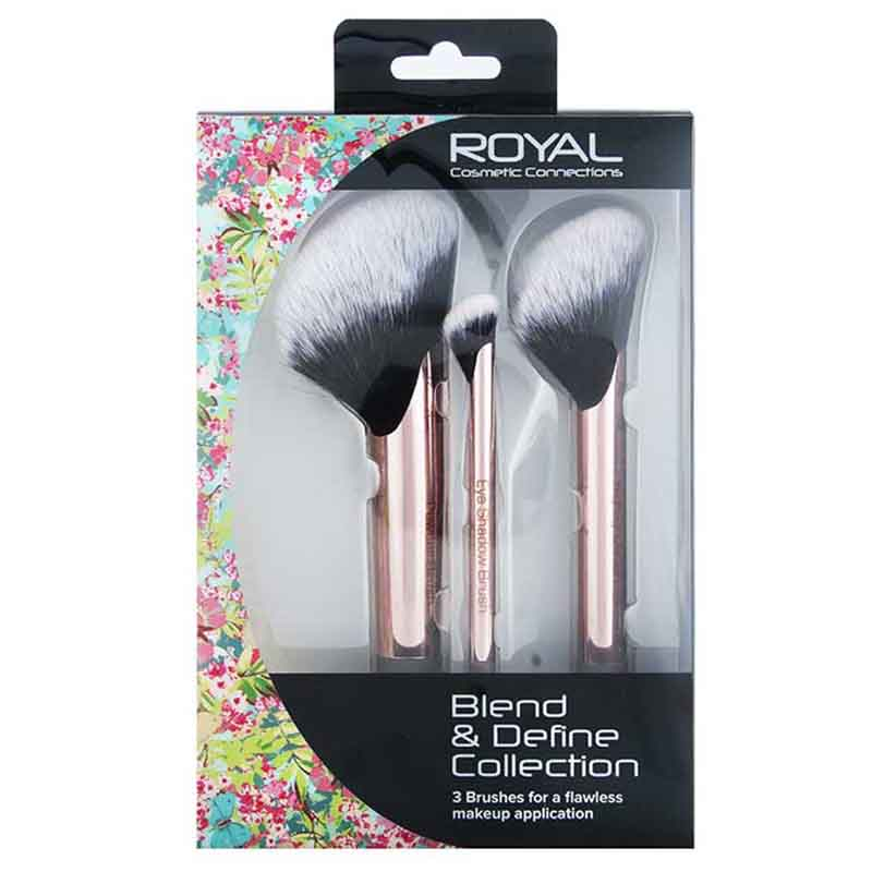 Royal Cosmetics Connections Blend & Define Collection Brushes Set