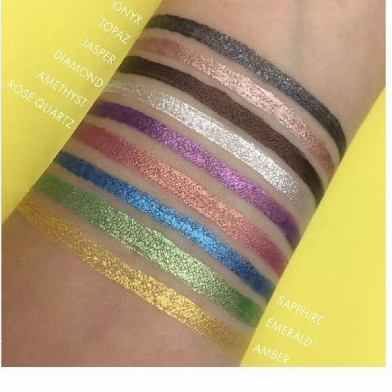 Rude 2 in 1 Shimmering Eyeliner + Eyeshadow 7.5ml - Amber