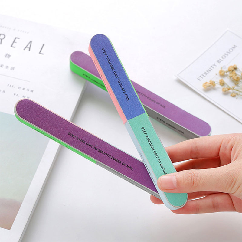 Sand Strip Six Sided Polishing Nail File