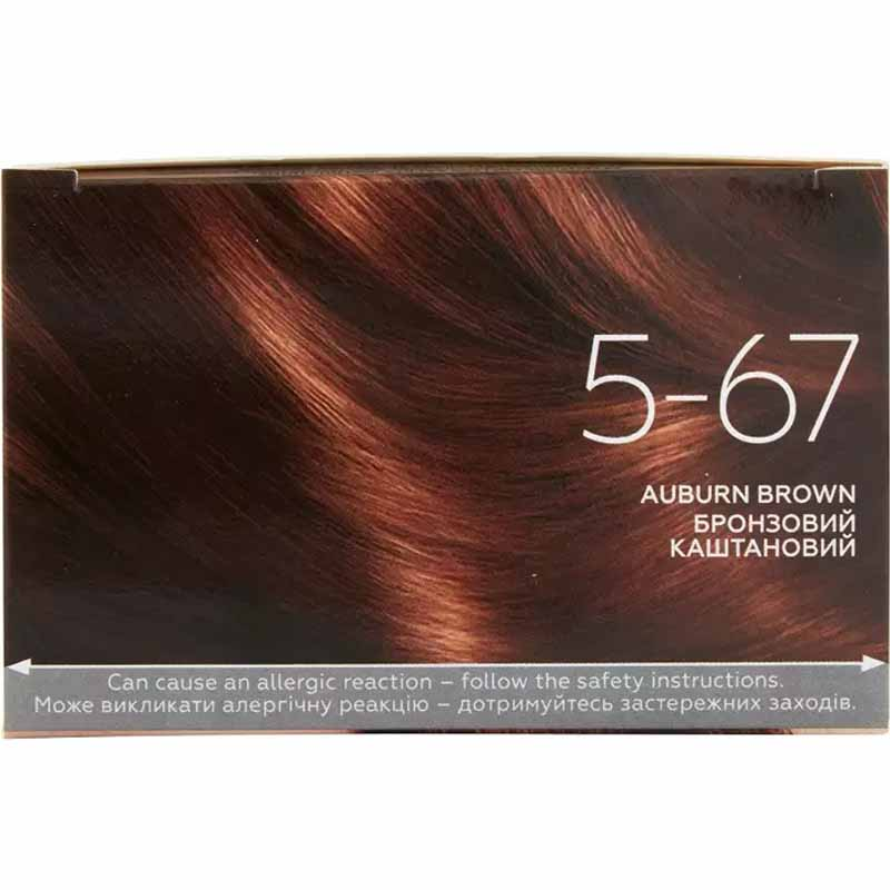 Schwarzkopf Color Expert Omegaplex Permanent Hair Colour - 5.67 Auburn Brown