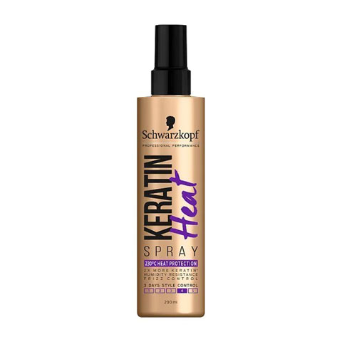 Schwarzkopf Keratin Heat Hair Spray - 200ml