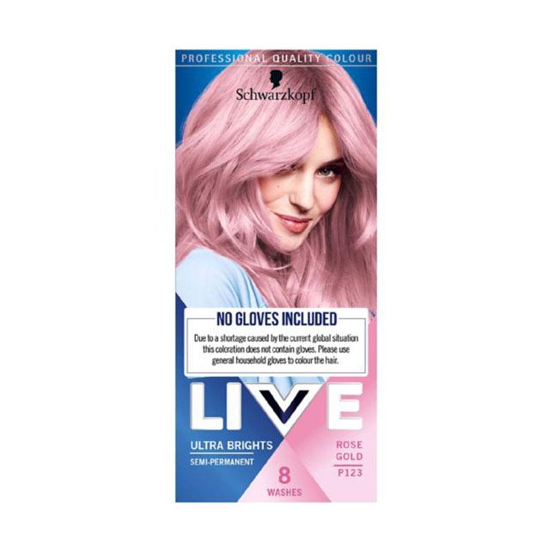Schwarzkopf Live Ultra Brights Semi-Permanent - P123 Rose