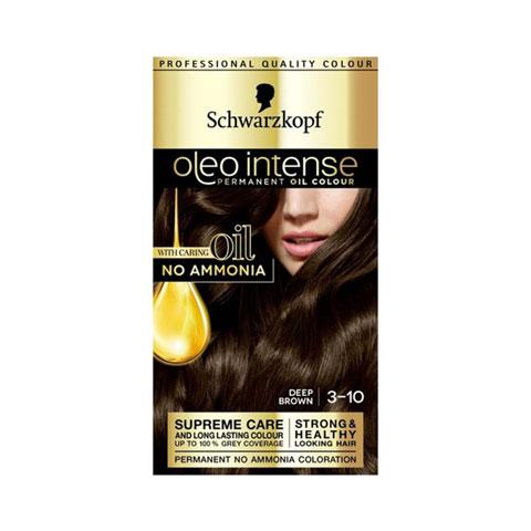 Schwarzkopf Oleo Intense Permanent Hair Colour - 3-10 Deep Brown