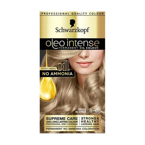 Schwarzkopf Oleo Intense Permanent Hair Colour - Beige Blonde 8-05