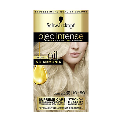 Schwarzkopf Oleo Intense Permanent Hair Colour - Light Ashy Blonde 10-50