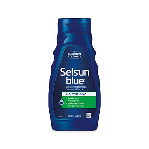 Selsun Blue Maximum Strength Moisturizing Anti Dandruff Shampoo 325ml
