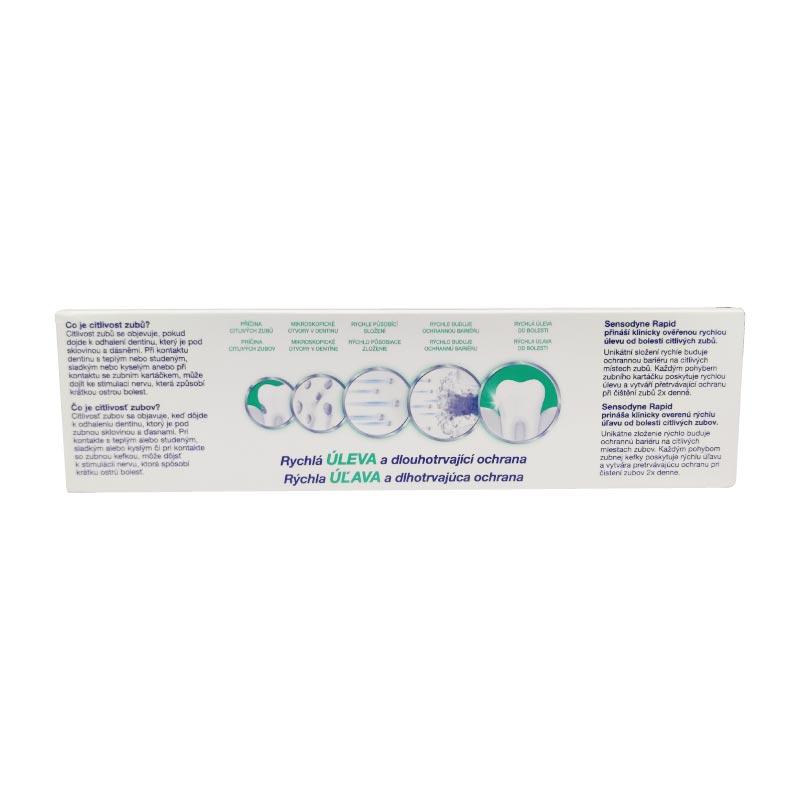 Sensodyne Rapid Relief Extra Fresh Toothpaste 75ml