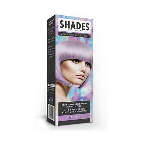 Shades London Conditioning Hair Toner Semi Permanent Pastel Hair Colour - Lilac Haze