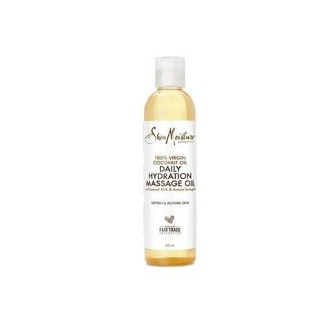 Shea Moisture 100% Virgin Coconut Oil Daily Hydration Massage Oil 237ml
