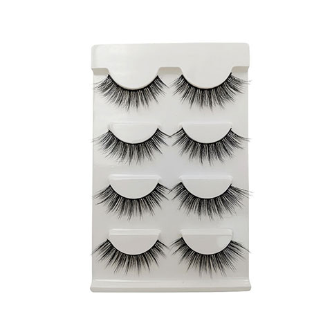 Shidi Shangpin 3D Mink False Eyelashes 4 Pairs Set - G108