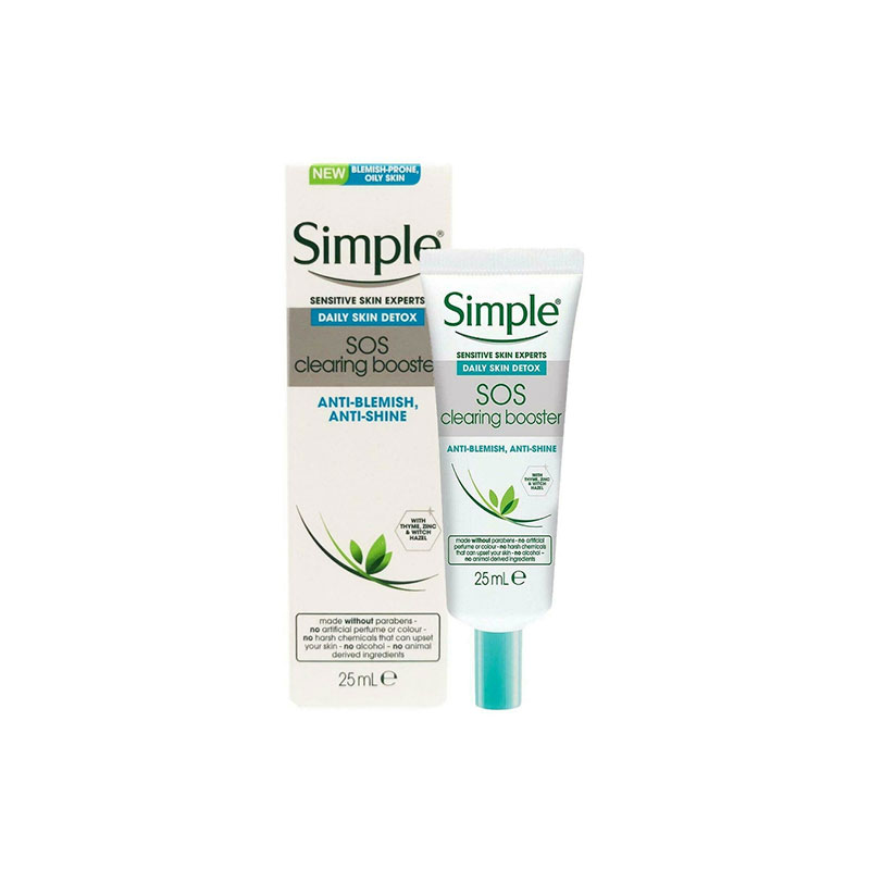 Simple Daily Skin Detox SOS Clearing Booster 25ml