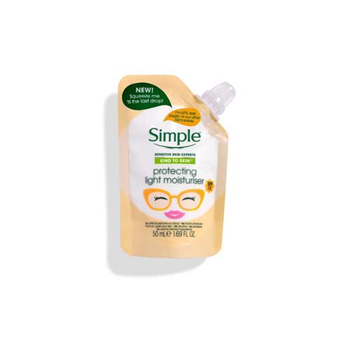 Simple Kind To Skin Protecting Light Moisturiser Pouch - 50ml