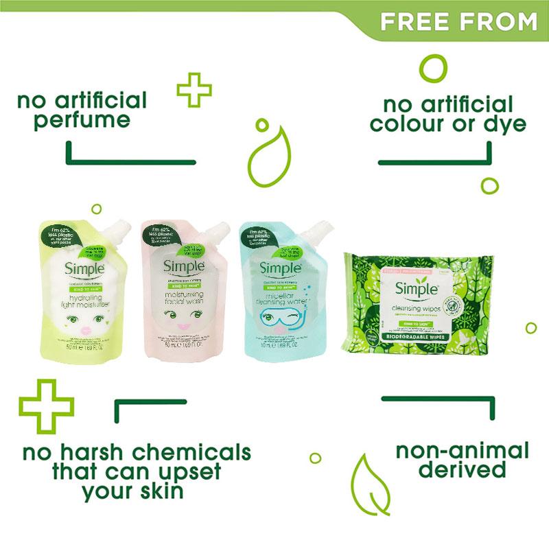 Simple Kind To Skin Safe Travels Skin Set (3055)