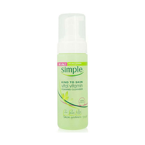 Simple Kind to Skin Vital Vitamin Foaming Cleanser 150ml