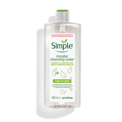 Simple Sensitive Skin Experts Kind To Skin Micellar Cleansing Water 400ml