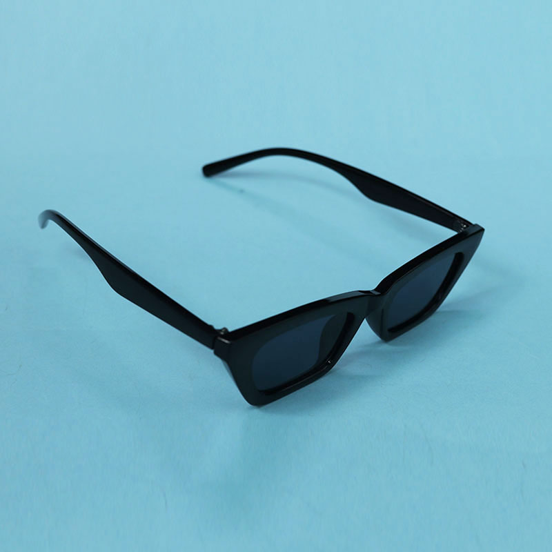Small Frame Cat Eye Female Plain Sunglasses