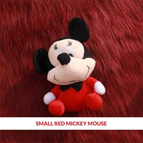 Small Red Mickey Mouse