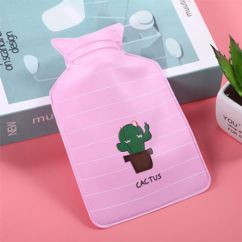 Small Warm Water Bag - Deep Pink