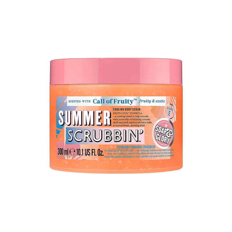 Soap & Glory Call Of Fruity Summer Scrubbin Cooling Body Scrub 300ml