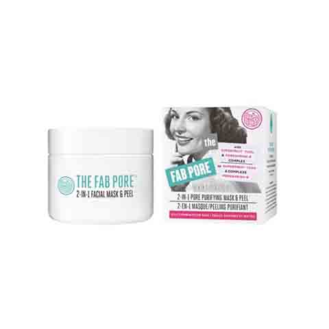 Soap & Glory The Fab Pore 2-in-1 Pore Purifying Mask & Peel 50ml